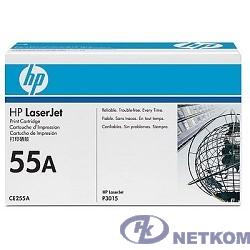 HP CE255A Картридж ,Black{LJ P3015, Black, (6000стр.)}