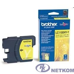 Brother LC-1100HYY Картридж ,Yellow{DCP-6690CW/MFC-5890CN/6490CW/6890CDW, Yellow, (750 стр.)}