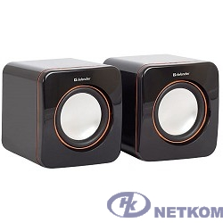 Defender SPK-530 черный {2.0, 2x2W USB} [65530]
