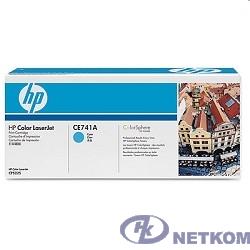 HP CE741A Картридж ,Cyan{Color LJ CP5225, Cyan, (7300стр.)}