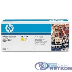 HP CE742A Картридж ,Yellow{Color LJ CP5225, Yellow, (7300стр.)}
