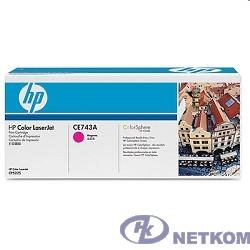 HP CE743A Картридж ,Magenta{Color LJ CP5225, Magenta, (7300стр.)}