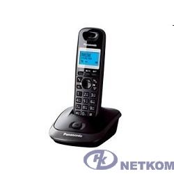 Panasonic KX-TG2511RUT (титан) {АОН, Caller ID,спикерфон на трубке,переход в Эко режим одним нажатием}