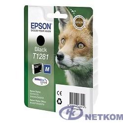 EPSON C13T12814010/4011/4012 Epson картридж для S22/SX125 (черный) (cons ink)