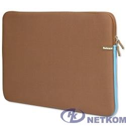 PORTCASE KNP-18BR Чехол для ноутбука {неопрен, коричневый, 17-18,4''}