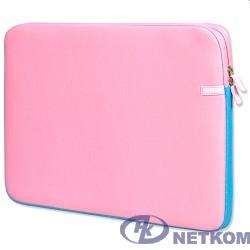 PORTCASE KNP-18PN Чехол для ноутбука {неопрен, розовый, 17-18,4''}