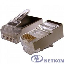 Gembird  коннектор кат 5, экранированный RJ45 FTP8P8C(100 шт. в уп.)