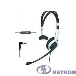 Panasonic RP/KX-TCA430PP-S / RP-TCA430E-S гарнитура, серебристая