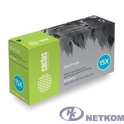 CACTUS C7115X Картридж (CS-C7115XS) для принтеров HP LaserJet 1000/1005/1200/1220/3300/3380
