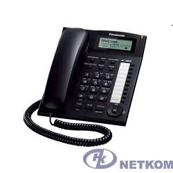 Panasonic KX-TS2388RUB (черный) {индикатор вызова,повторный набор последнего номера,4 уровня громкости звонка}
