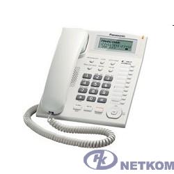 Panasonic KX-TS2388RUW (белый) {индикатор вызова,повторный набор последнего номера,4 уровня громкости звонка}