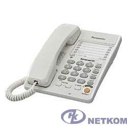 Panasonic KX-TS2363RUW (белый) {однокноп.набор 20 ном., спикерфон, автодозвон}