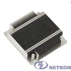 Supermicro SNK-P0046P 1U (1155, радиатор без вентилятора, Al + тепловые трубки)