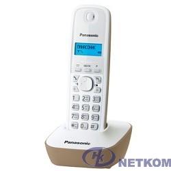 Panasonic KX-TG1611RUJ (бежевый) {АОН, Caller ID,12 мелодий звонка,подсветка дисплея,поиск трубки}