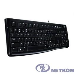 920-002506 Logitech Клавиатура K120 EER Black USB