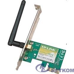 TP-Link TL-WN781ND Беспроводной сетевой адаптер на базе шины PCI Express со скоростью передачи данных до 150 Мбит/с