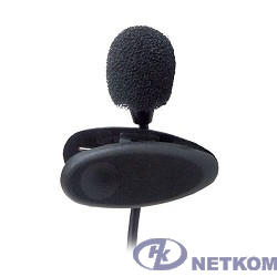 RITMIX RCM-101 {Лёгкий петличный микрофон Ritmix RCM-101 с внешним питанием. Подходит для диктофонов, имеющих электрическое питание на гнезде микрофонного входа (Plug in Power).Длина кабеля: 1,2 м}