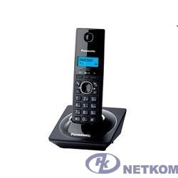 Panasonic KX-TG1711RUB (черный) {АОН, Caller ID,12 мелодий звонка,подсветка дисплея,поиск трубки}