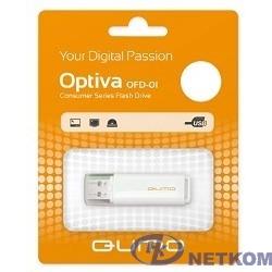 USB 2.0 QUMO 16GB Optiva 01 White [QM16GUD-OP1-white]