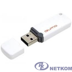 USB 2.0 QUMO 16GB Optiva 02 White [QM16GUD-OP2-white]