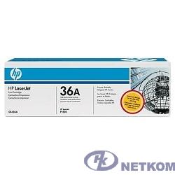 HP CB436AF/AD Картридж ,Black{LJ P1505/M1120/M1522, Black, (2000стр), (2-pack)} (2-pack)
