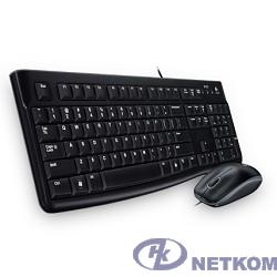 920-002561(40/52) Logitech Клавиатура + мышь Desktop MK120 USB