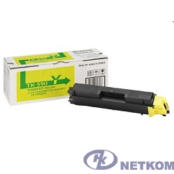 Kyocera-Mita TK-590Y Картридж, Yellow {FS-C5250DN/C2026MFP/C2026MFP+/C2126MFP/C2126MFP+/C2526MFP/C2626MFP, Yellow, (5000стр.)}