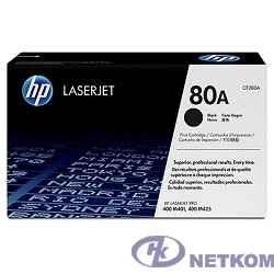 HP CF280A Картридж , Black{LaserJet Pro 400 M401/M425, Black, (2700стр.)}