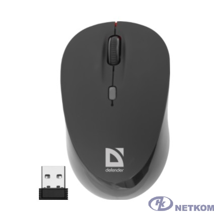 Defender Dacota MS-155 Nano Black-Red USB [52155] {2кн+кл, 1000/1500/2000dpi}